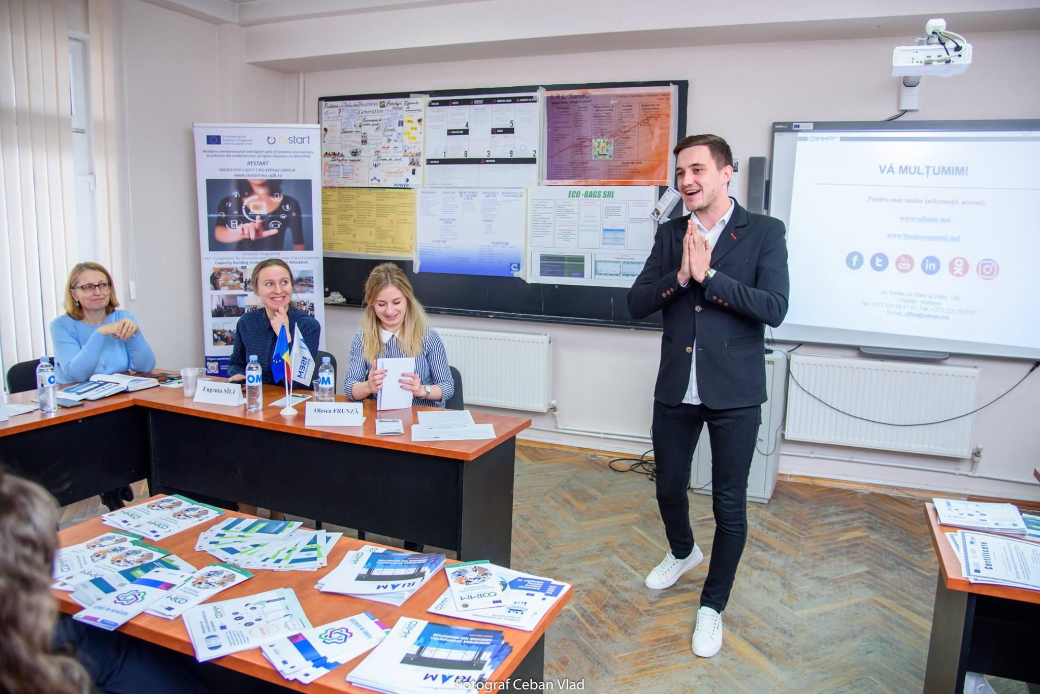 Competiție internațională proiectului ReSTART