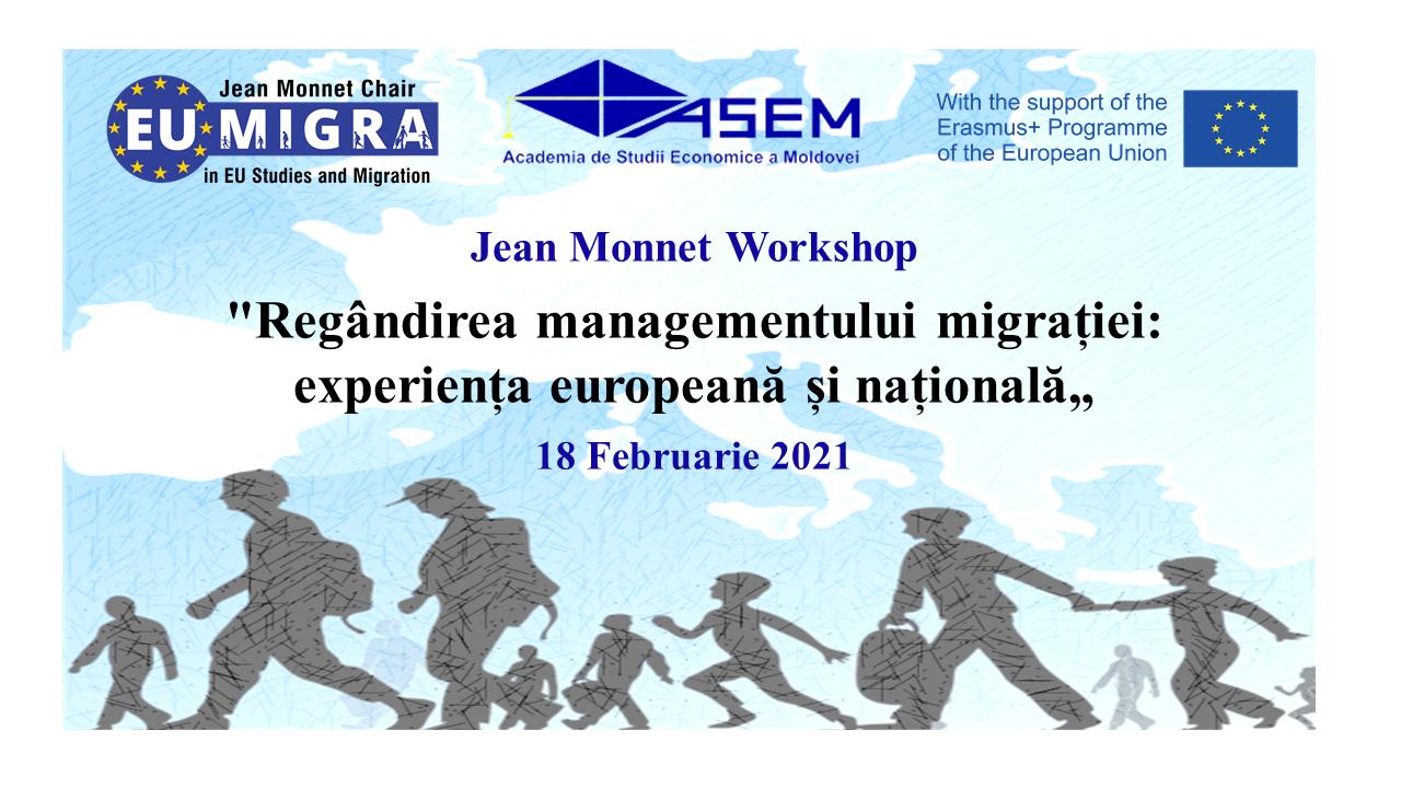 Regândirea managementului migrației